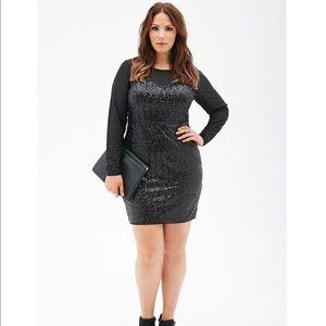 068d86e062b Women s Plus Size Sequin Dress Forever 21 on Poshmark
